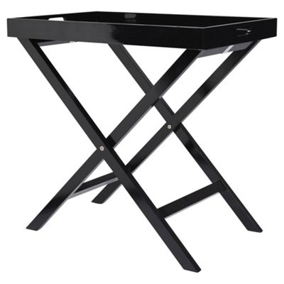 High Quality Butlers Tray Table, Black