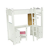 Olivia's Little World Baby Doll Furniture College Dorm Double Bunk