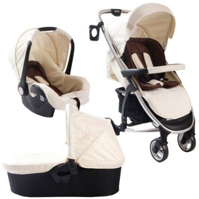 buy my babiie billie faiers mb100 travel system cream. Black Bedroom Furniture Sets. Home Design Ideas