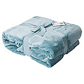 Duck Egg Super Soft Fleece Throw