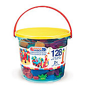 Bristle Blocks Jungle Adventure Bucket 128pcs