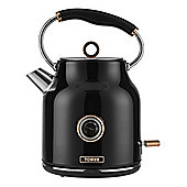 Tower-T10020 Traditional Kettle with 3000W Power and 1.7L Capacity in Black
