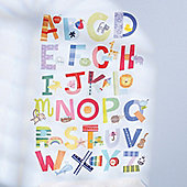 Alphabet Children's Fun Wall Stickers