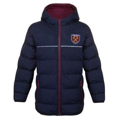 West Ham United FC Boys Quilted Jacket 2-3 Years