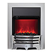 Mayfair 2kW Inset Electric Fire - Chrome