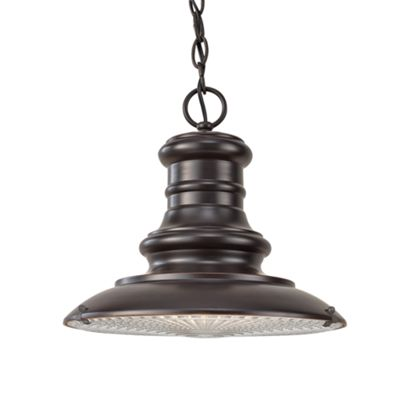 Restoration Bronze Medium Chain Lantern - 1 x 100W E27