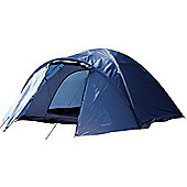 North Gear Camping Mars Waterproof 4 Man Dome Tent Navy