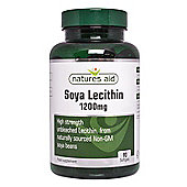 Natures Aid Soya Lecithin 1200mg - 90 Tablets