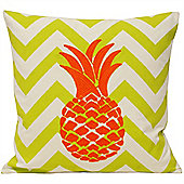 Riva Home Malibu Pineapple Lime & Orange Cushion Cover - 45x45cm