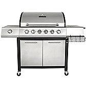 Charles Bentley Premium 6 Burner Gas BBQ with side burner