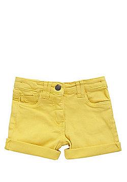 Minoti Denim Shorts - Yellow