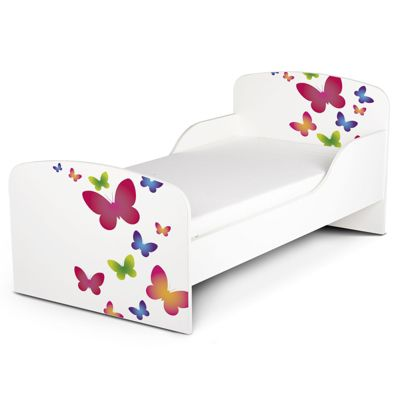 PriceRightHome Butterflies Toddler Bed