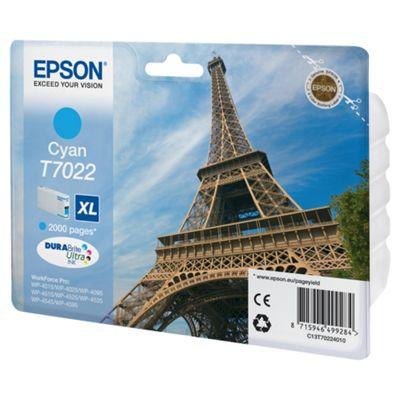 Epson T7022 Series Ink Cartridge XL Cyan 2k