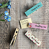 Butterfly Memo Peg Clips
