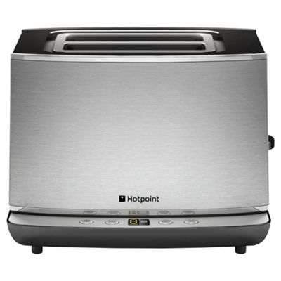 Hotpoint 2 Slice Toaster - Brushed Stainless Steel