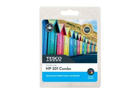 Tesco H301 Printer Ink Cartridge Combo