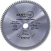 Trend - Craft saw blade aluminium and plastic 190 x 60 teeth x 30 - CSB/AP19060