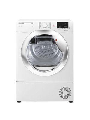 Hoover HLC9DCE 9kg Load Condenser Tumble Dryer, White