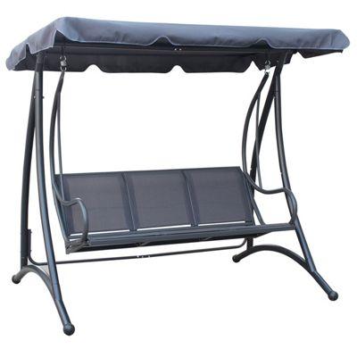 Bentley Garden 3 Seater Grey Swing Chair  Buy from Tesco. Buy Bentley Garden 3 Seater Grey Swing Chair from our Garden Swing