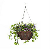 Smart Garden Easy Basket 30cm Purple and Yellow