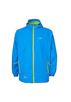 Trespass Mens Qikpac Waterproof Packaway Jacket - Blue