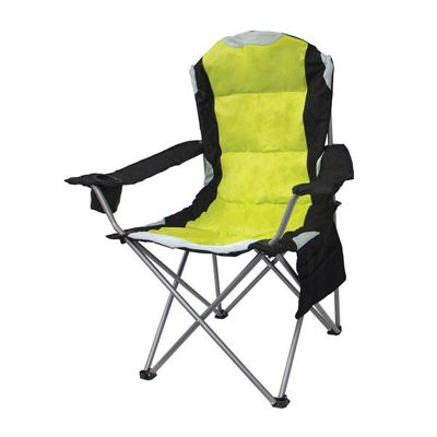 Mapleton Padded Camping Chair - Blue/Red/Green/Cerise - Yellowstone