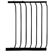 54CM Gate Extension BLACK - For Safety Gates F160B/F170B - F833B - Dreambaby