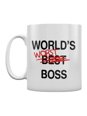 World's Worst Boss 10oz Ceramic Mug