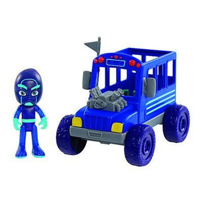 PJ Masks Villains Night Ninja Bus Vehicle with Ninja Figure