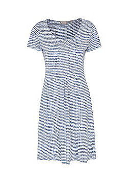 Mountain Warehouse Orchid Patterned Womens UV Dress - Blue