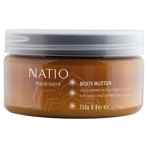 Natio Meditate Body Butter Rose