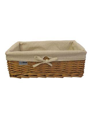 Natural Willow Wicker Storage Basket