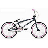 "Rooster XR3 Kids 20"" Wheel Freestyle BMX Bike Gyro Grey/Pink"
