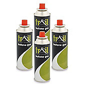 Trail 4 x 220g Butane Gas Canisters