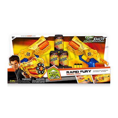 X-Shot Rapid Fury Dart Blaster 2 Pack
