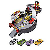 Teamsterz Pack Away Garage With 5 Toy Cars Included