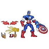 Marvel Super Hero Mashers Captain America Action Figure