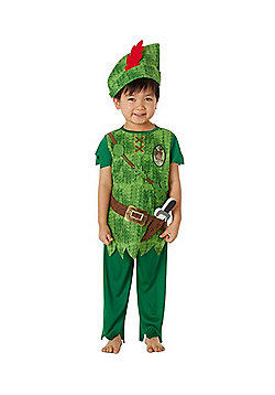 Disney Peter Pan Fancy Dress Costume - Green