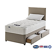 Silentnight Windsor Divan Bed, Miracoil Luxury Memory