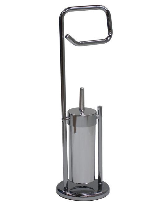 Crannog Neue Design Toilet Roll and Toilet Brush Holder Set
