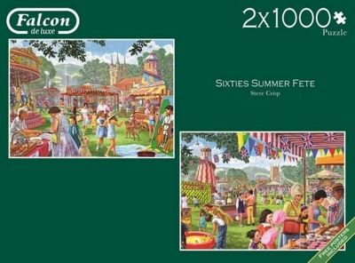 Sixties Summer Fete - 2x1000pc Puzzle