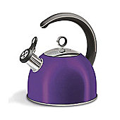 Morphy Richards - Accents 2.5 Litre Plum Whistling Kettle