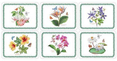 Pimpernel Exotic Botanic Garden Placemats, Set of 6