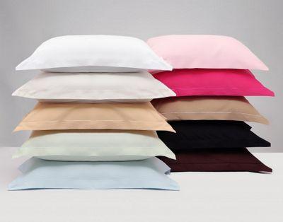 Belledorm Egyptian Cotton 200 Thread Count Housewife Pillowcase Pair - White