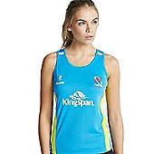 Kukri Ulster Rugby 16 Ladies Racerback vest - Cyan - Blue