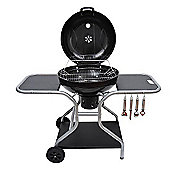 Outsunny Charcoal Trolley BBQ Barbecue Grill Garden