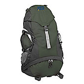 North Gear Starlight 40L + 10L Rucksack Backpack Green