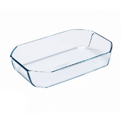 Pyrex Inspiration Borosilicate Glass Dish, Thermal Shock Resistant, Dishwasher Safe - 2.6L