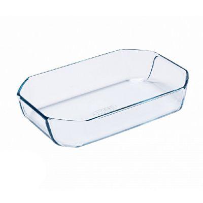 Pyrex Inspiration Borosilicate Glass Dish, Thermal Shock Resistant, Dishwasher Safe - 2.6L