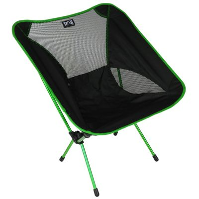 Trail Ultra-Light Aluminium Camping Chair (1kg) Green